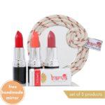 Lipsticks set of 3