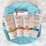 skin pamper bundle with free bag